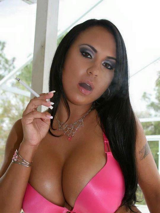 Smoking fetish for adult