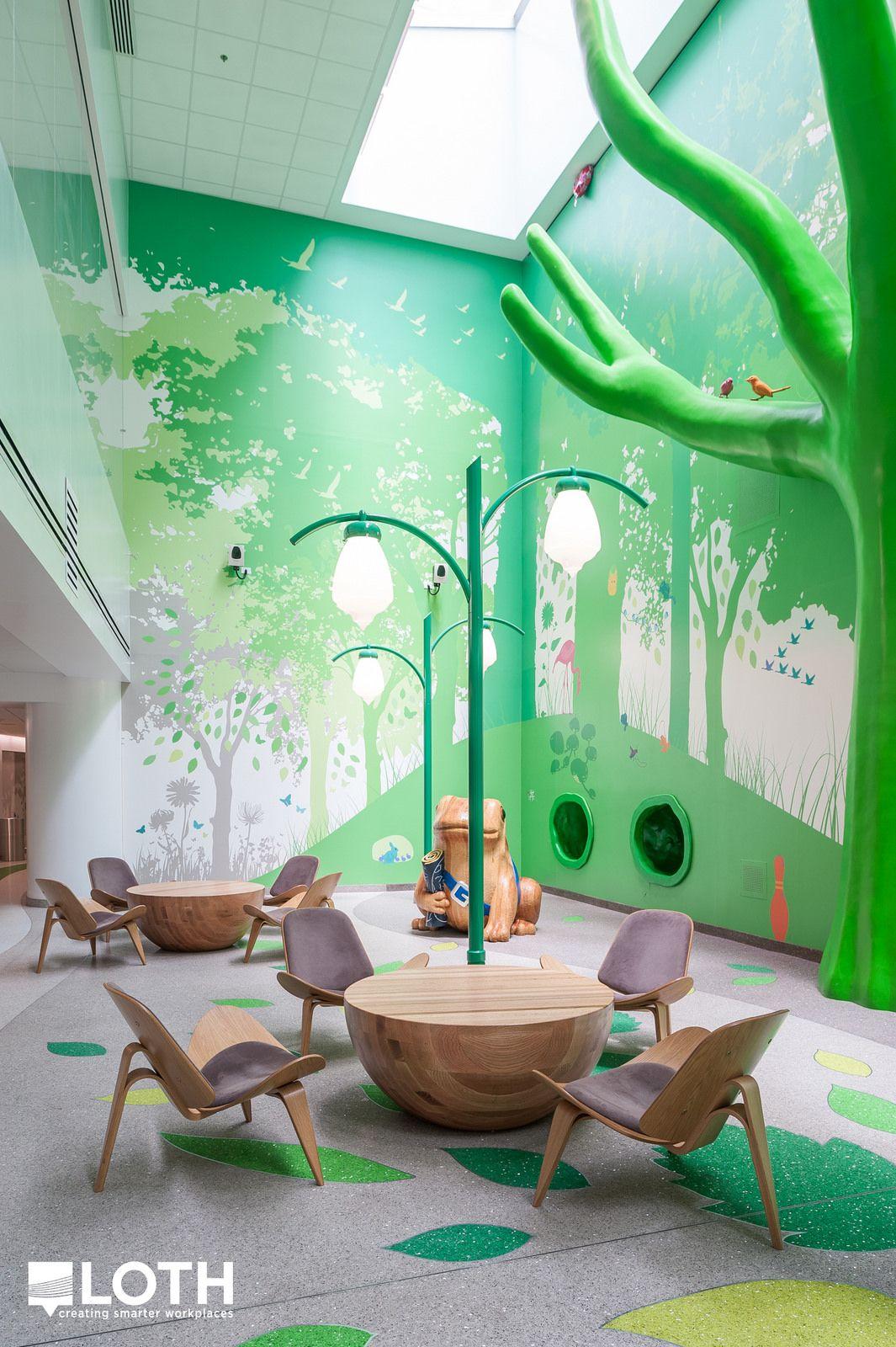 Hospital Room Interior Design: Nationwide Children's Hospital