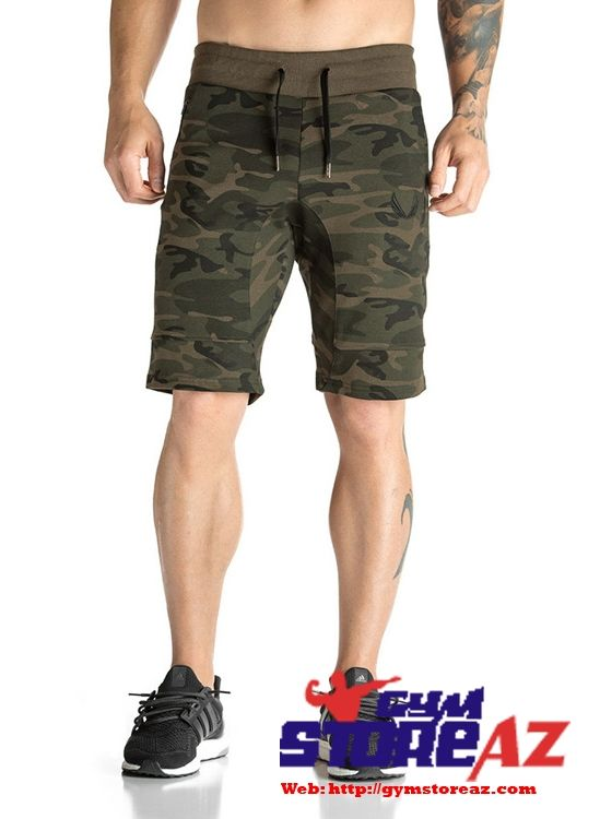 Camouflage Shorts Mens Gyms Jogger Casual Shorts Male Breathable Comfortable Shorts Pants