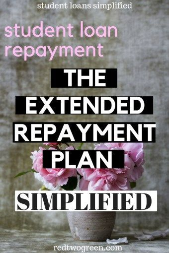 Everything You Need To Know About The Extended Repayment Plan