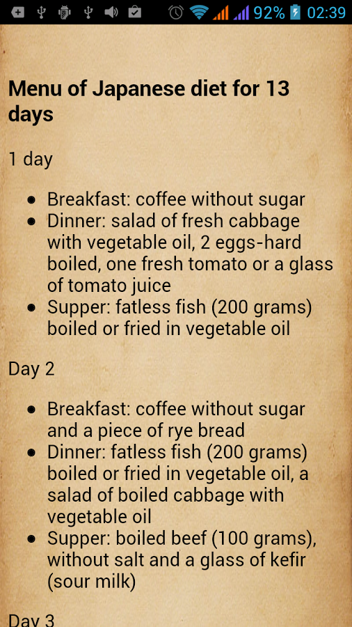 Vegetarian detox diet plan