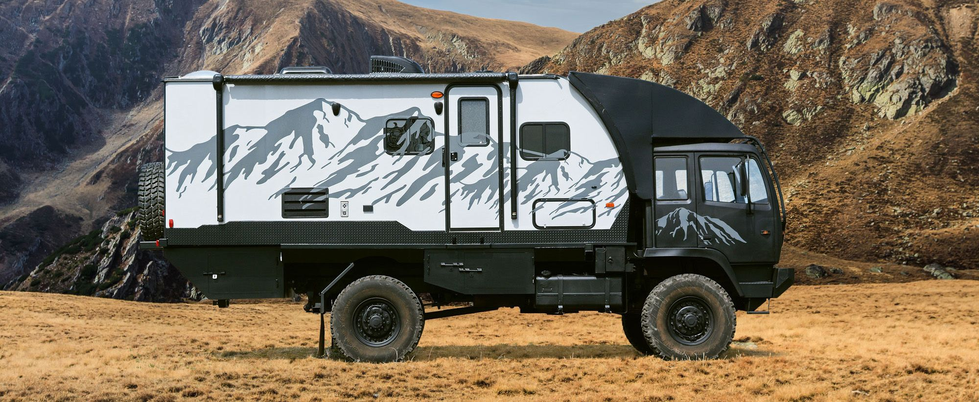 Hunter RMV  Expedition vehicle, Off road rv, Offroad
