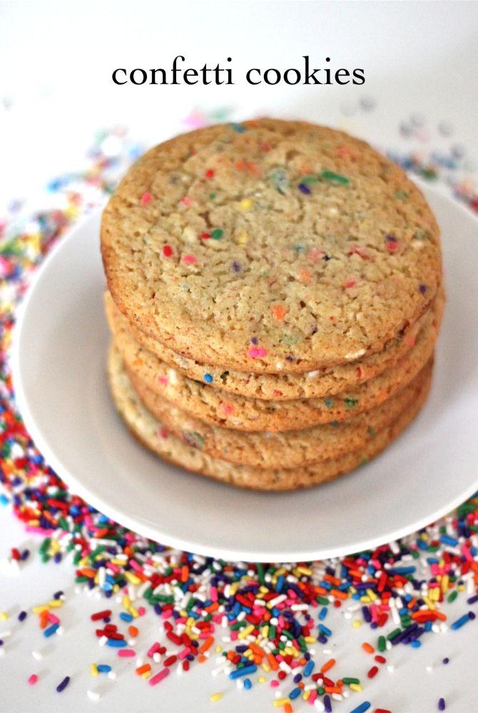Momofuku Milk Bar No 12 Confetti Cookies Confetti Cookies Funfetti Dessert Momofuku Milk Bar