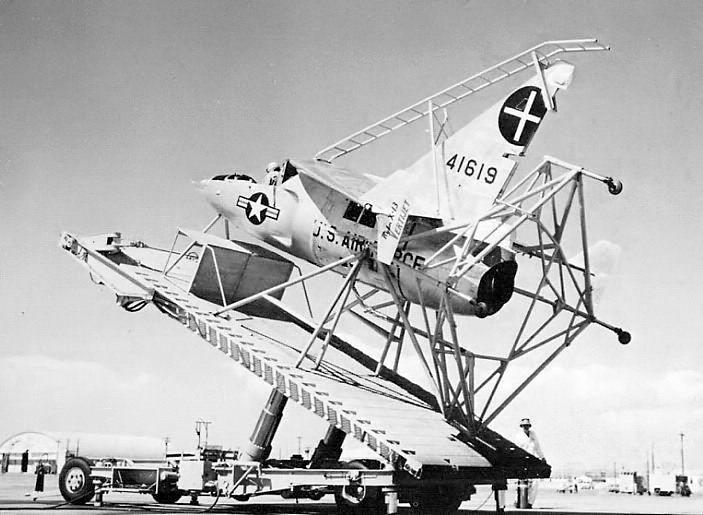 The Ryan X-13 Vertijet (company Designation Model 69) Was