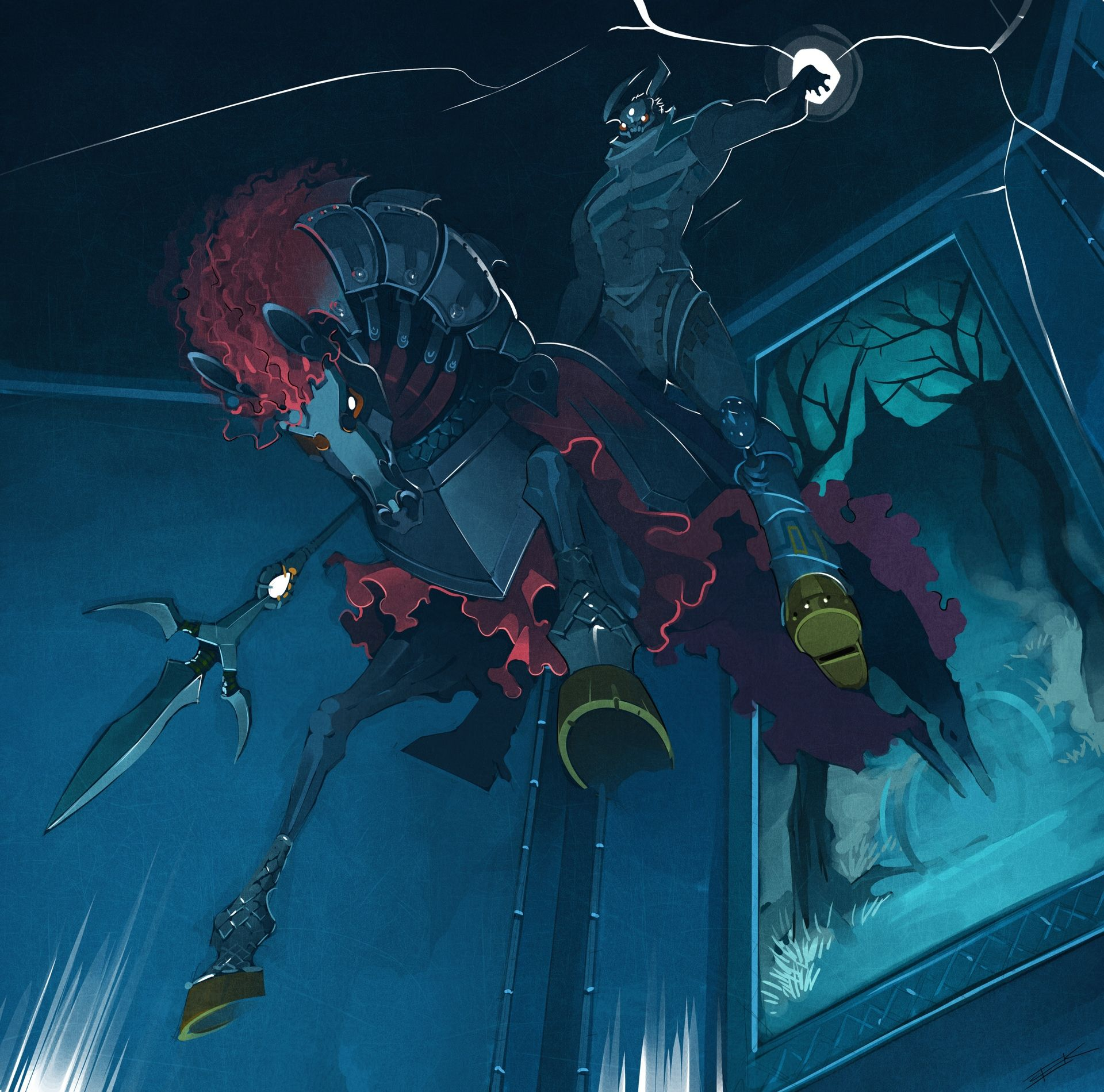 Great Phantom Ganon boss artwork from The Legend of Zelda
