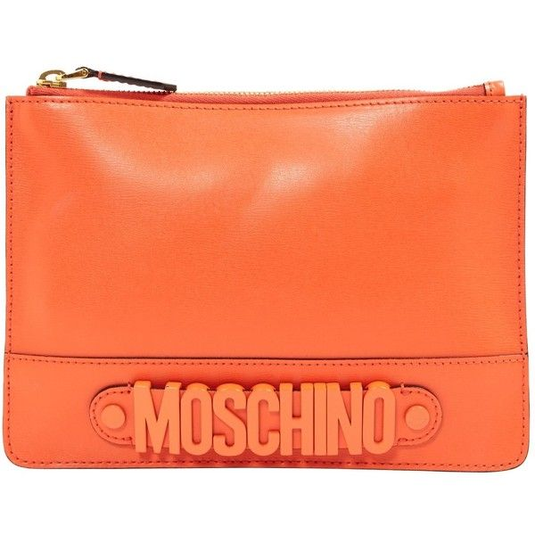 Moschino Pre-owned - Leather clutch bag wnBQo