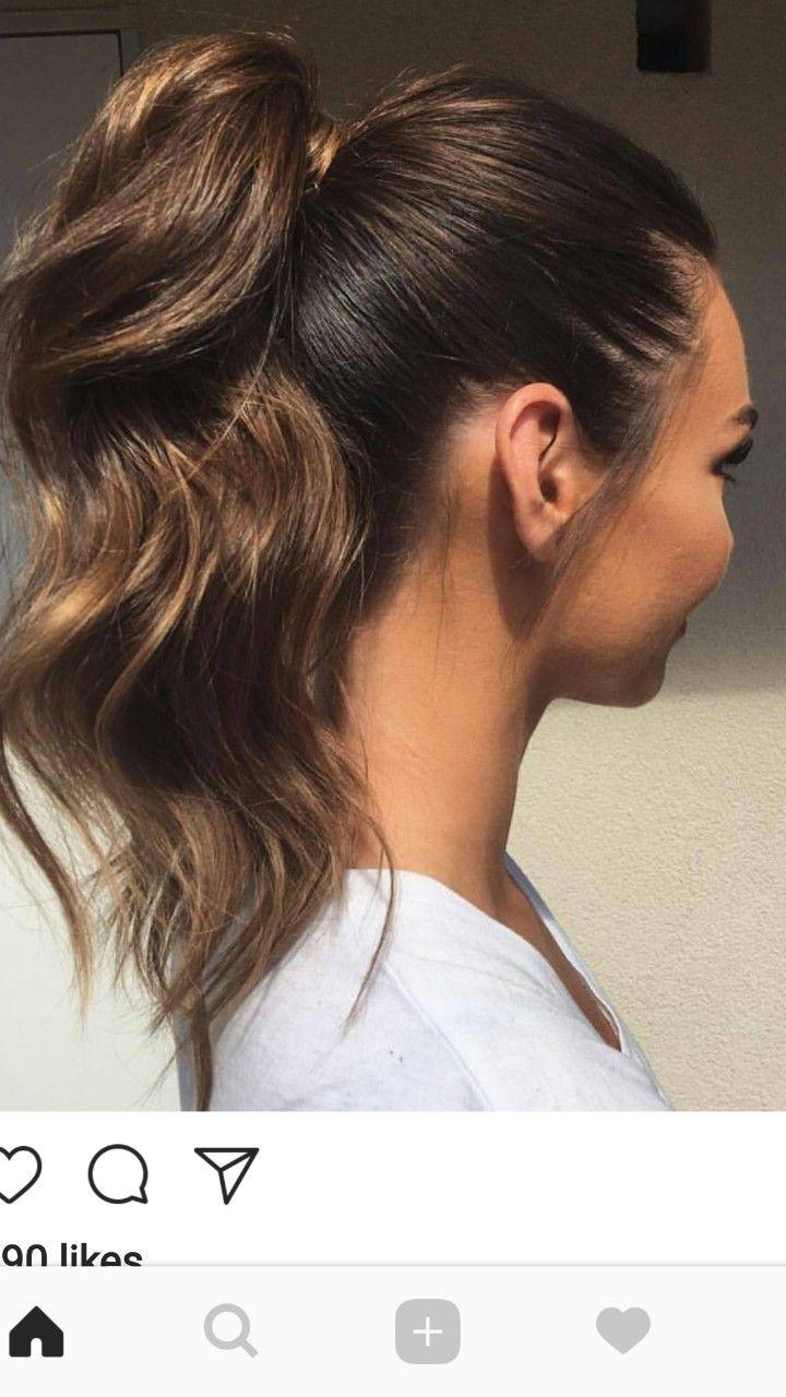 Perfect pony tail weddings pinterest hair style hair