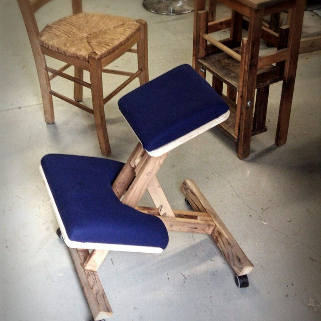 Diy kneeling chair kneeling chair chair design wooden