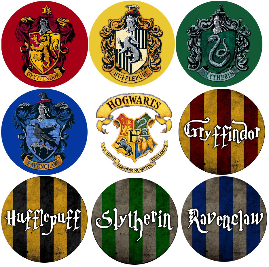 Show Your Hogwarts House Pride With These Potteriffic Buttons