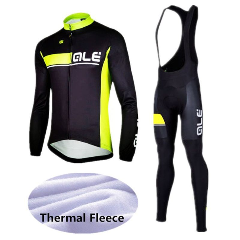 add2bd660 Bike clothing · 2B racing team men s Winter thermal fleece long sleeved  cycling jersey set