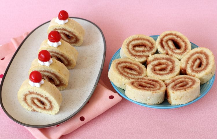 Swiss roll recipe swiss rolls easy desserts and recipes swiss roll recipe on myrecipemagic forumfinder Choice Image
