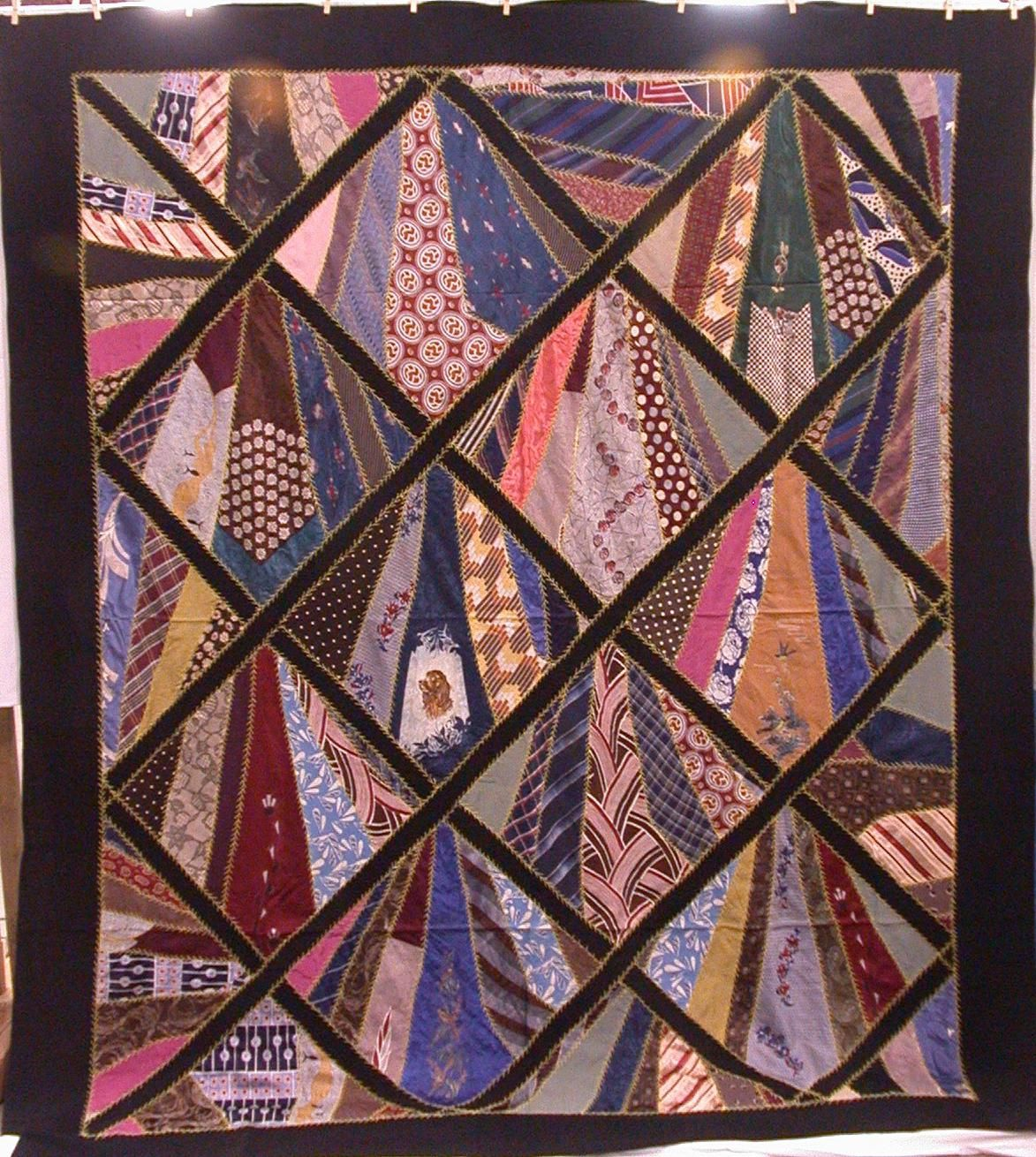Tie quilts patterns men s tie quilt this quilt was hand made with tie quilts patterns men s tie quilt this quilt was hand made with some machine ccuart Image collections