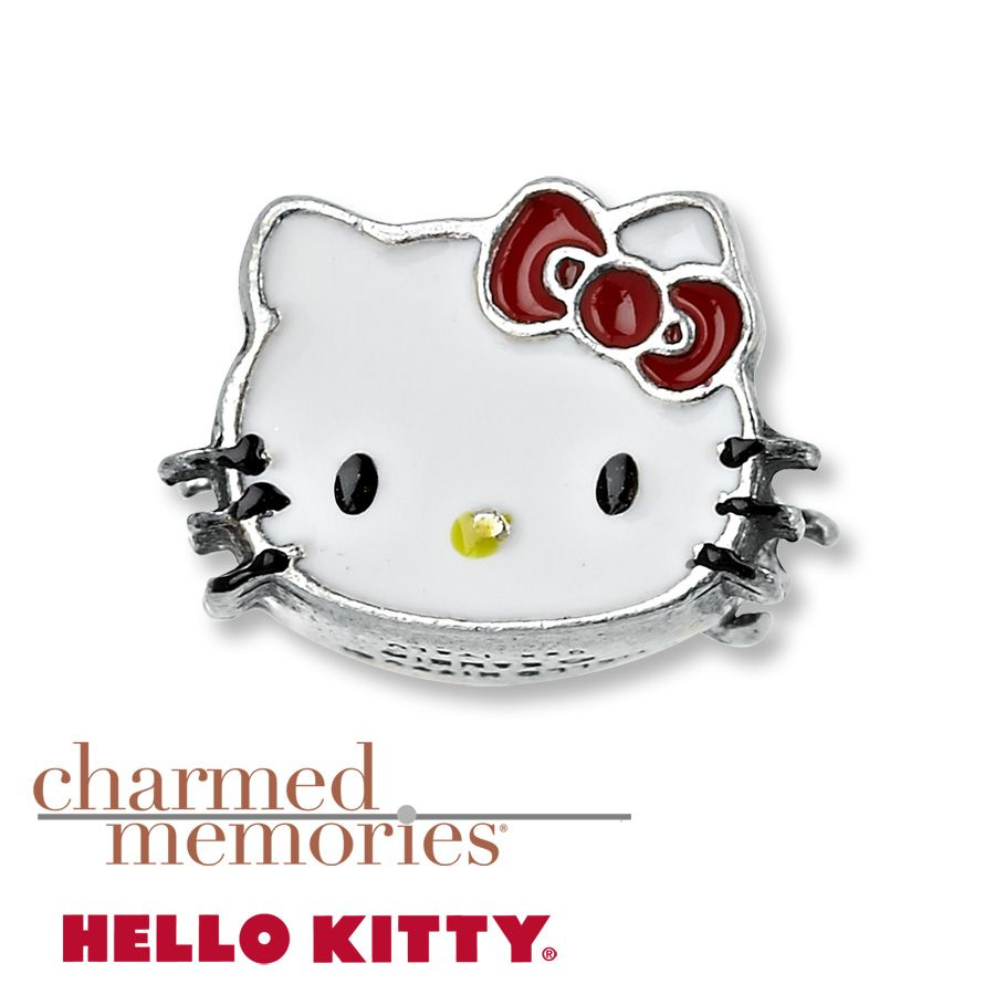 88d1e97d9 Kay - Charmed Memories® Hello Kitty® Charm Sterling Silver | Charmed ...
