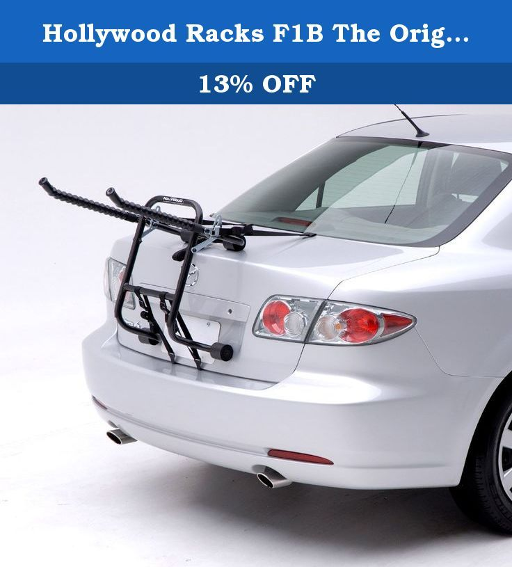 Hollywood Racks F1b The Original 3 Bike Trunk Mount Rack