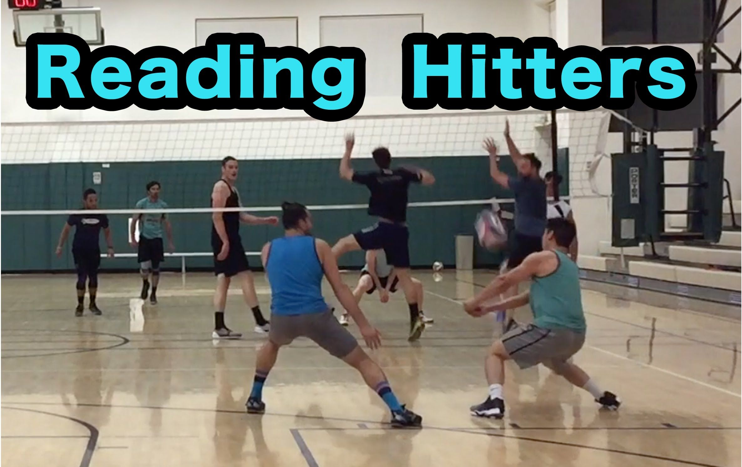 Reading Hitters Part 1 2 Volleyball Defense Tutorial Volleyball Practice Volleyball Workouts Volleyball Skills