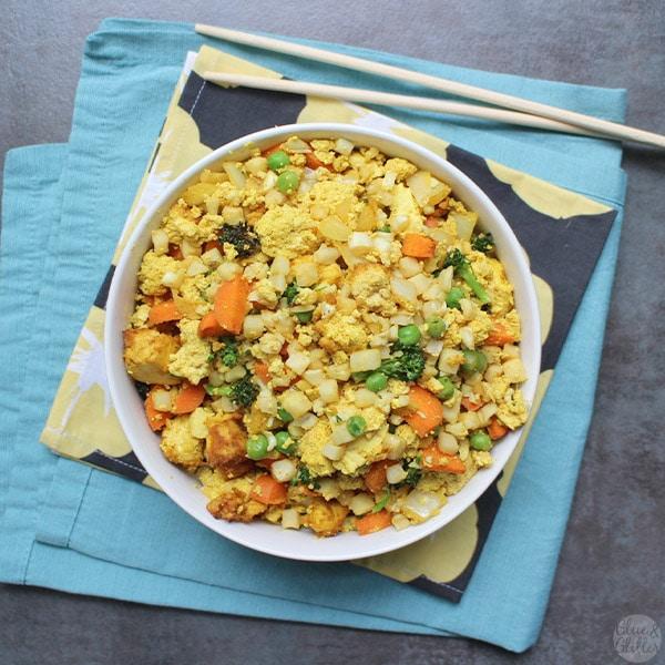 Air Fried Cauliflower Rice Recipe Air fryer healthy