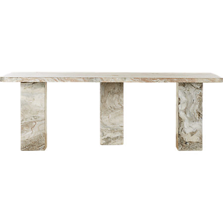 Statement Marble Coffee Table Reviews Cb2 In 2020 Marble