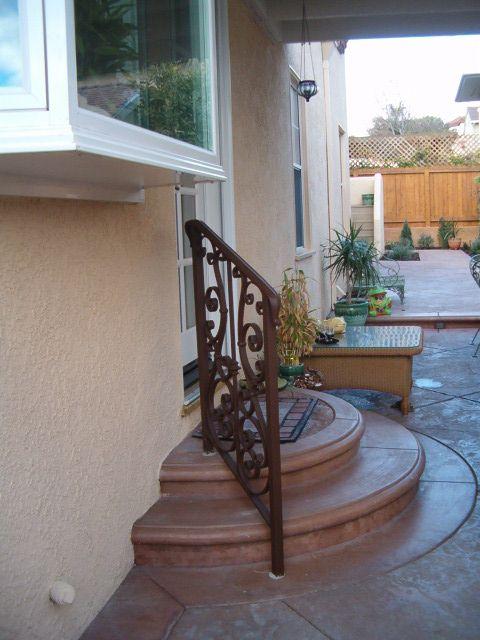 7 Custom Exterior Hand Railings Exterior Railing Stair
