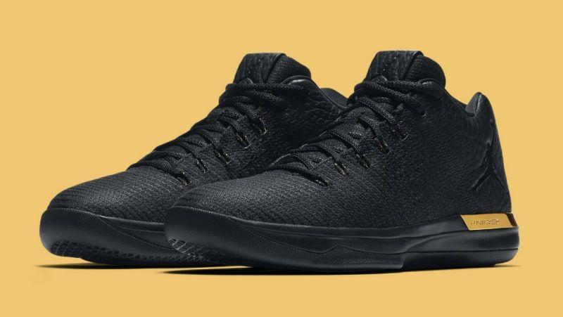 Air Jordan 31 Low Black/Gold Release Date 897564-023 | Sole Collector