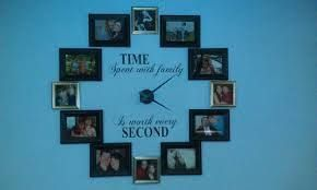 time spent with family wall clock - Google Search