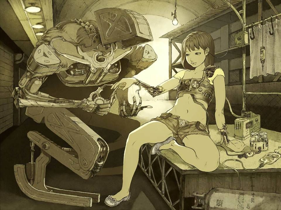 Bajo Reparación Illustratortatsuyuki Tanaka カナビス メビウス