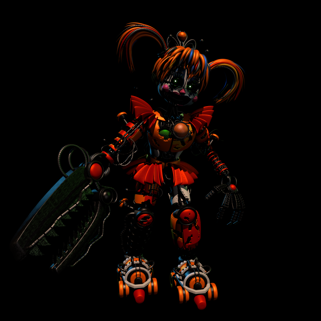 FNaF 6 Scrap Baby | Done by EndyArts | FNAF | Fnaf, Fnaf baby, Five