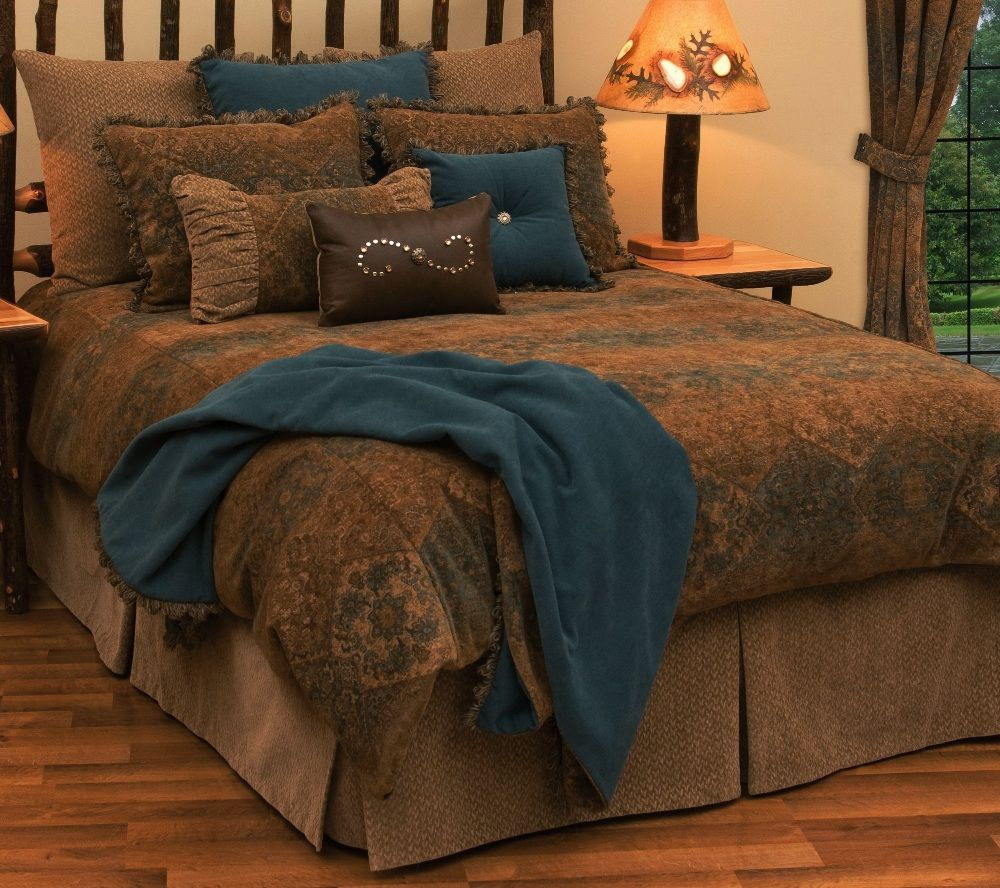 Deluxe De Laura Bed Ensemble Set By Wooded River Southwestern Bedding