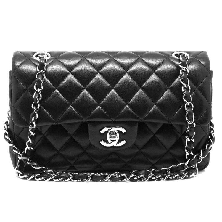 9937bc9fb História da Chanel 2.55 | b a g s | Bolsa chanel preta, Preto e ...
