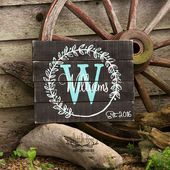 Wreath Personalized Name Wood Sign // Custom Sign // Home Decor // Wall  Decor // Home U0026 Living // Wood Sign // Wall Hangings