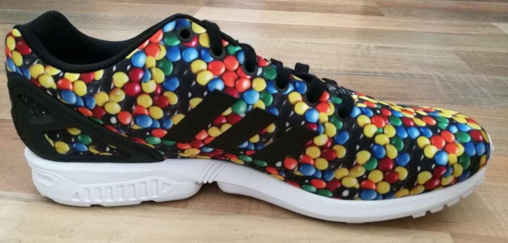 Size 13 Adidas Skittles/M\u0026M shoes, how