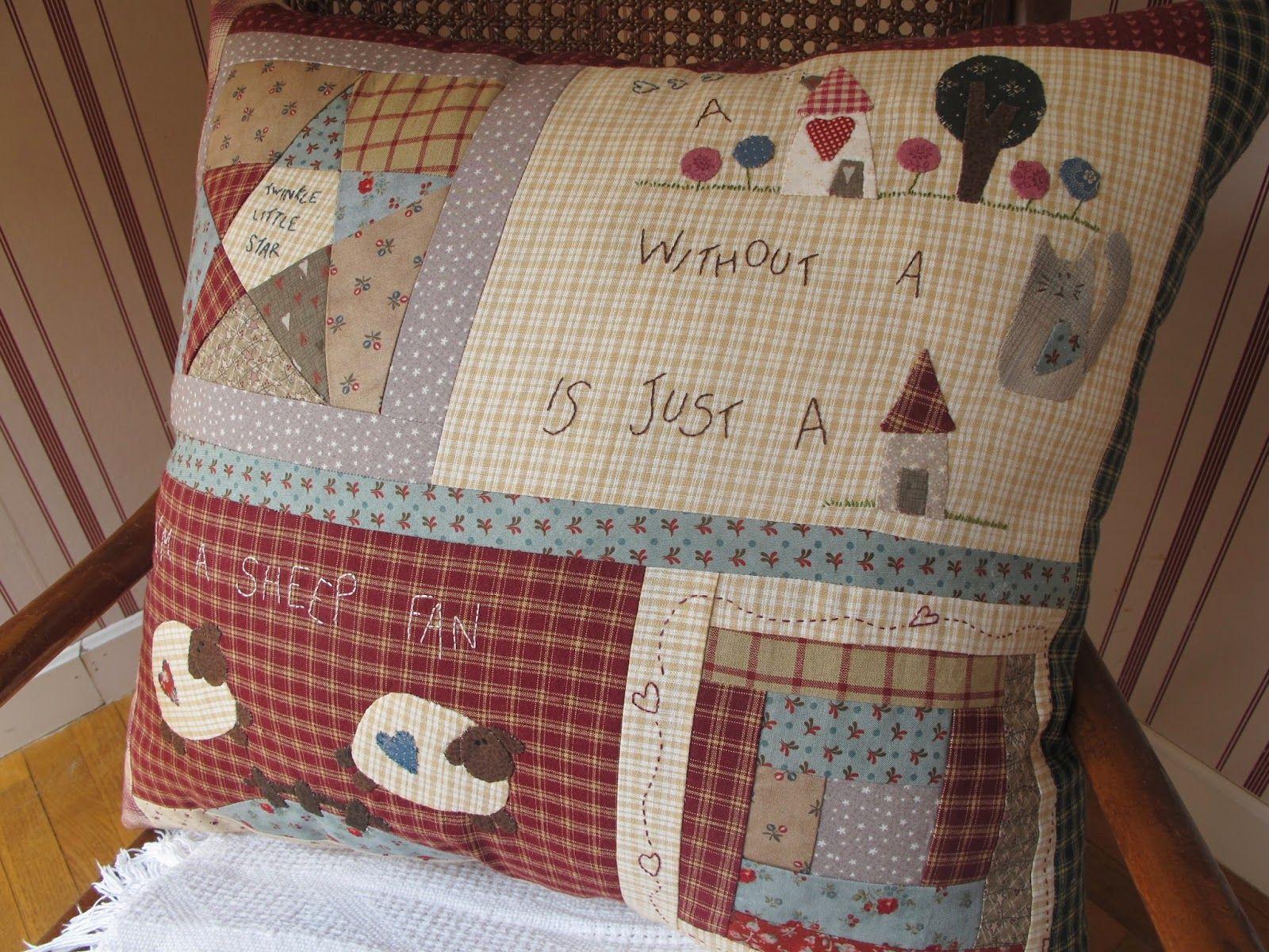 Sopa de calabaza historia de un coj n patchwork - Como hacer colchas de patchwork ...