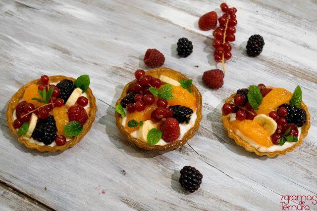 7gramas de ternura: Tarteletes de Fruta e Creme de Queijo e 4 Anos de ...