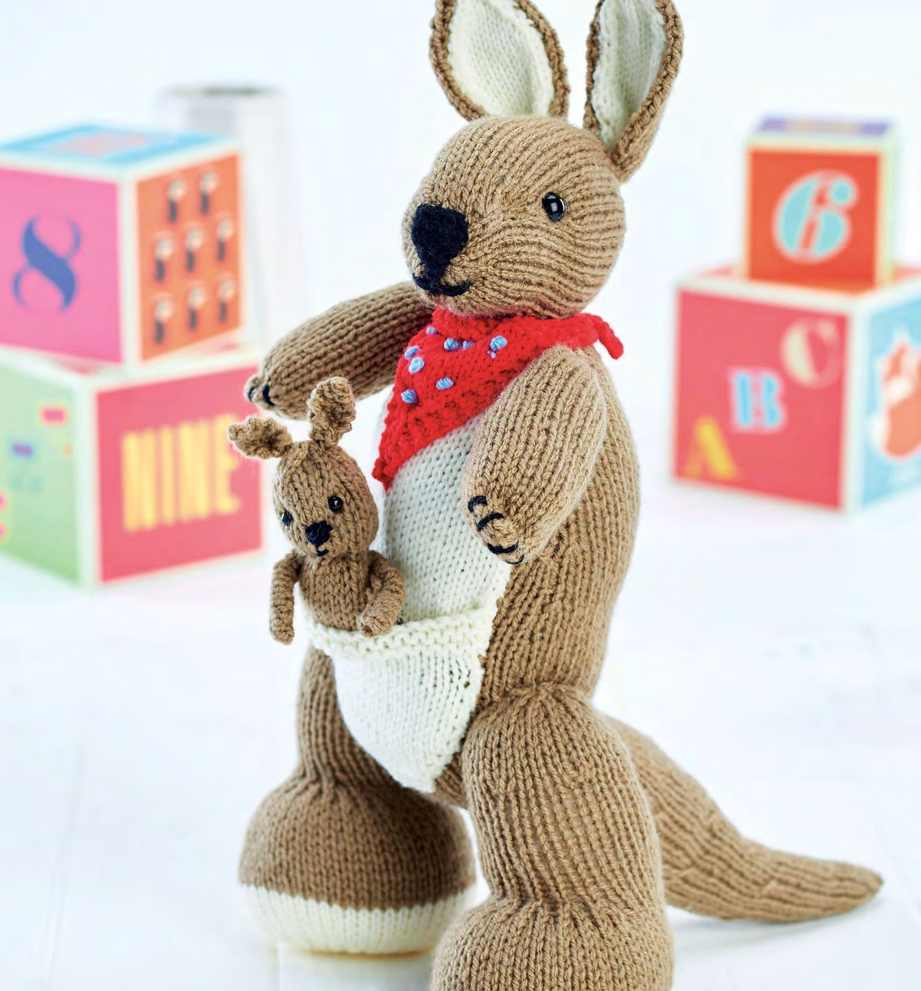 Kangaroo and Joey: Support Australian Animals   Knitting ...