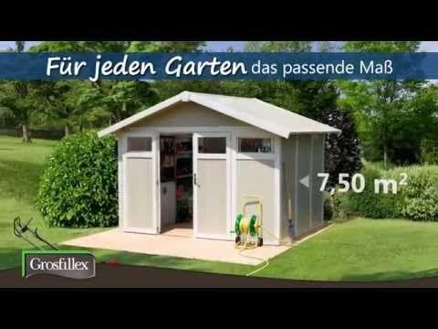 Grosfillex Gerätehaus UTILITY V11 (mit Bildern