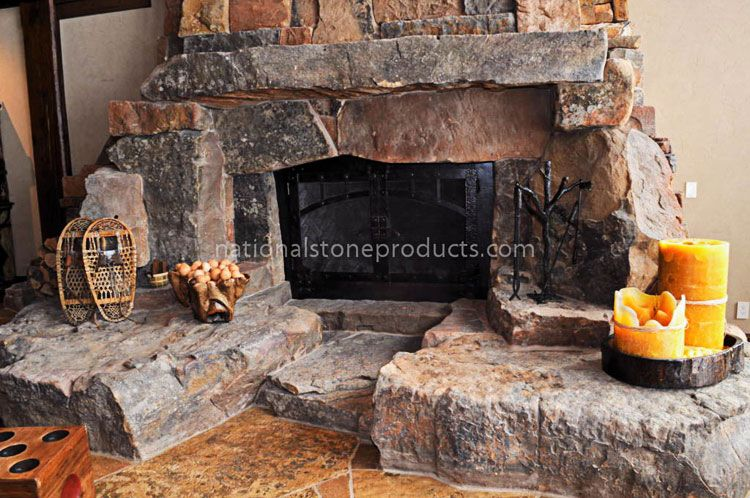 National Stone Products   Custom Cut Stone   Hearth & Mantles http://www.446save.com/nationalstoneproducts/custom_cut_stone/hearth_mantles.html