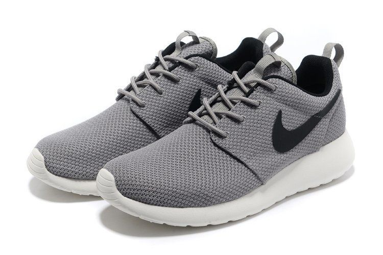 size 40 0680d 38205 Roshe Run Yeezy Homme Marine Pour Nike Grise Noir Nike Roshe Trainers,  Running Shoes For
