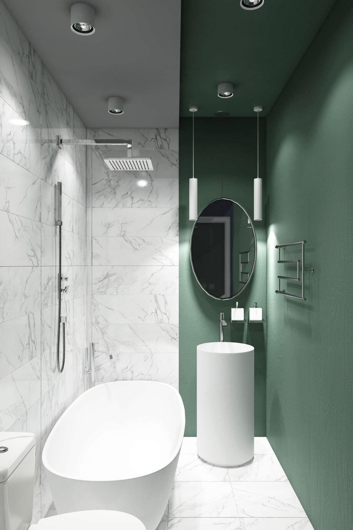 Disposizione Bagni Moderni.50 Idee Moderne Per Ristrutturare Un Bagno Stretto E Lungo