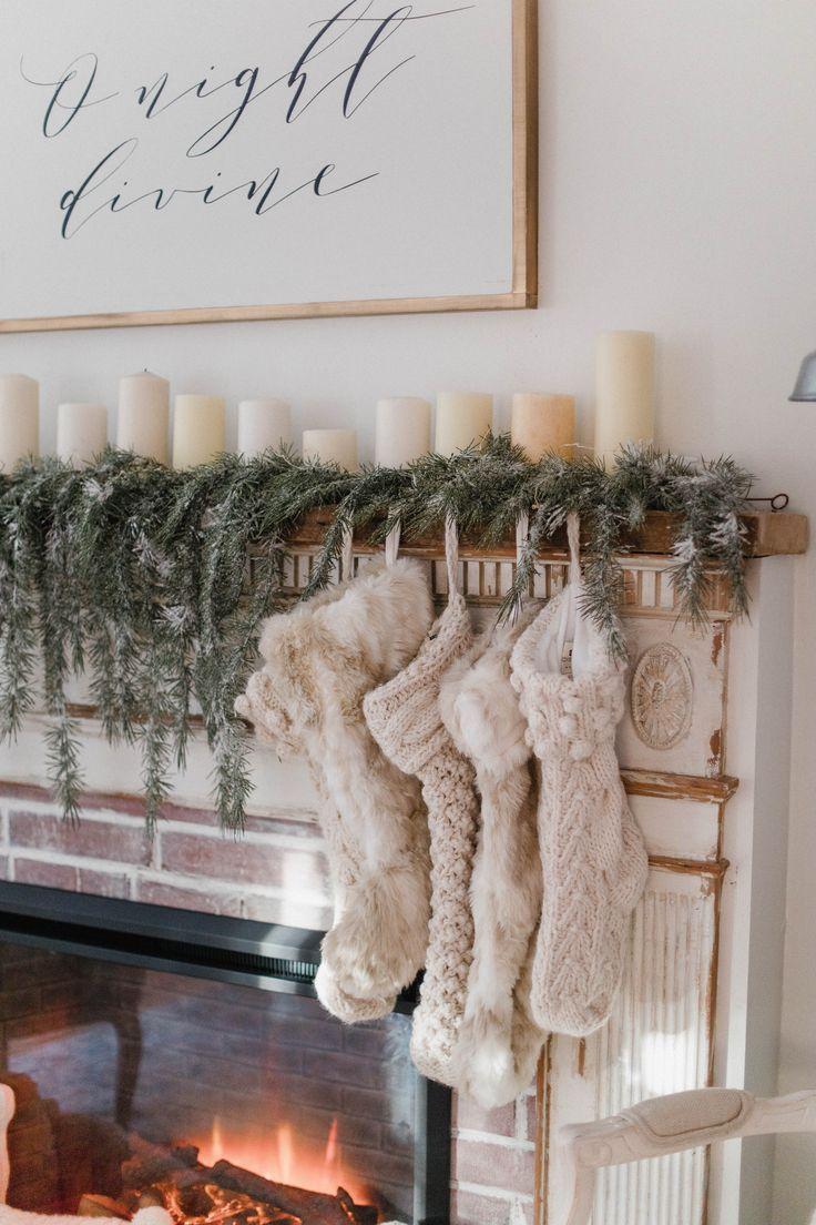 Christmas Cottage Living Room - Lauren McBride