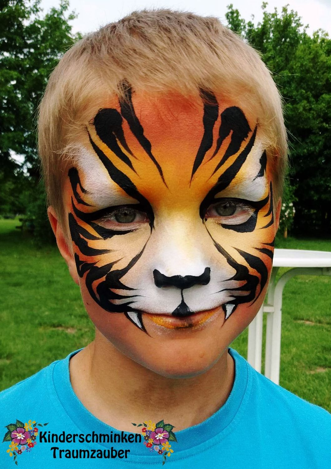 Kinderschminken Tiger Little Sweet Tiger By Kinderschminken Traumzauber Facepainting