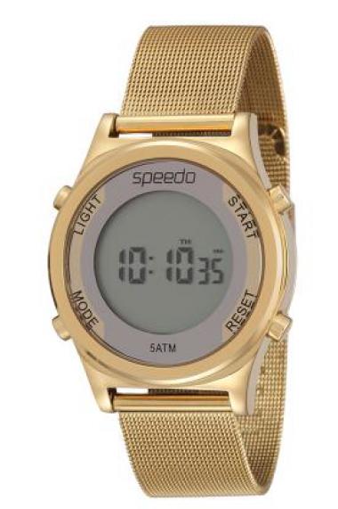 e936734f30a 24850LPEVDS1 Relógio Feminino Dourado Speedo