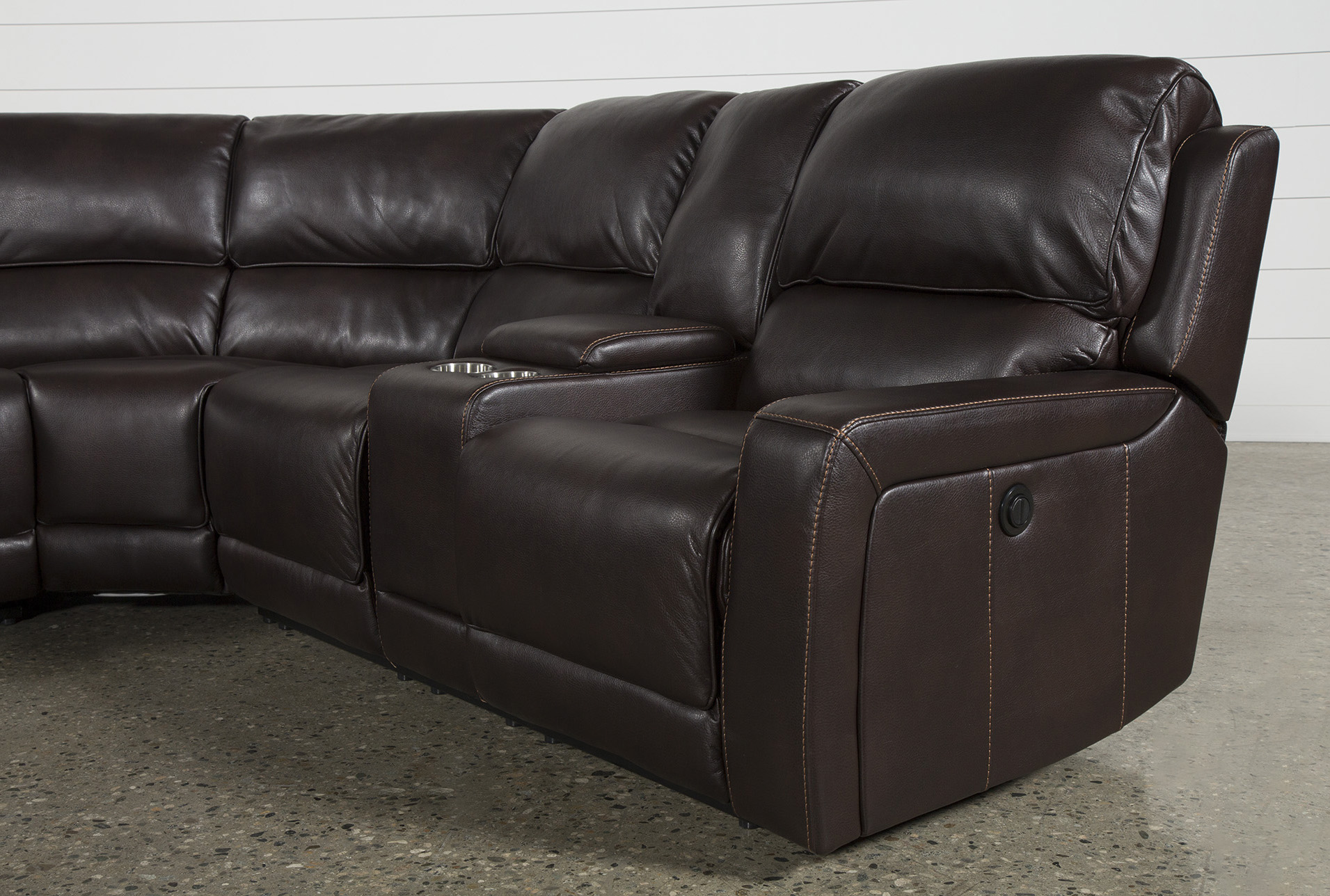 Outstanding Declan 3 Piece Power Reclining Sectional With Raf Console Uwap Interior Chair Design Uwaporg
