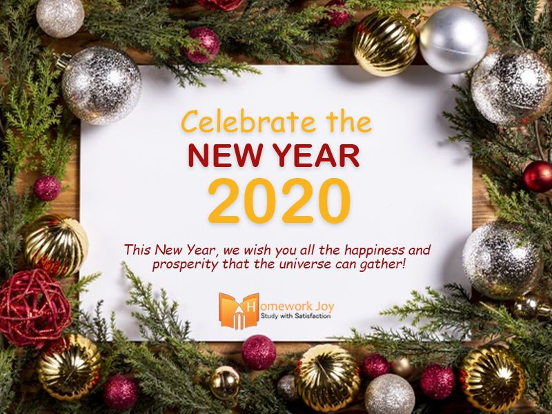 Happy New Year 2020 New Year Image New Year Images Joy Happy New Year 2020
