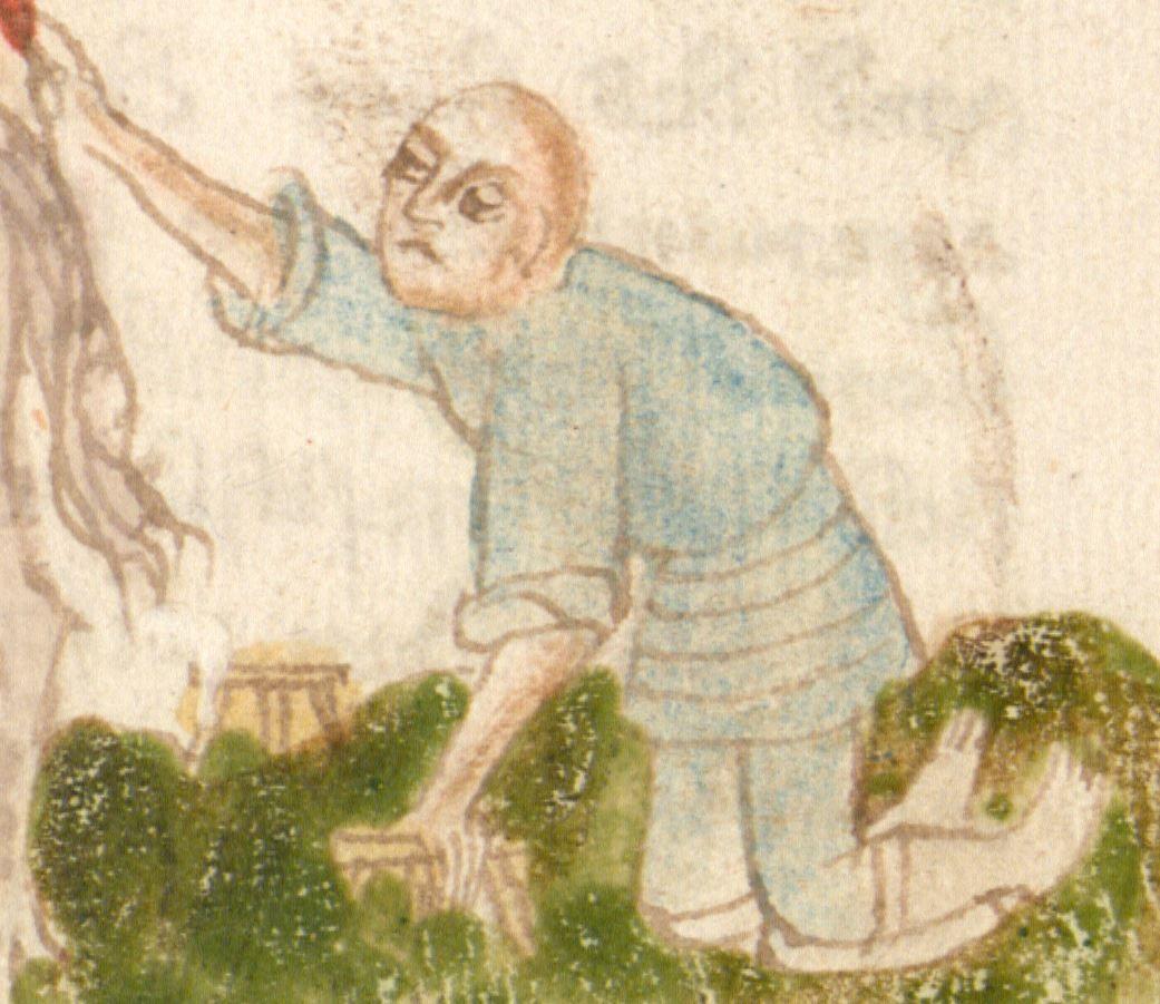 Weltchronik. Sibyllenweissagung. Antichrist BSB Cgm 426, Bayern, 3. Viertel 15. Jh  Folio 60