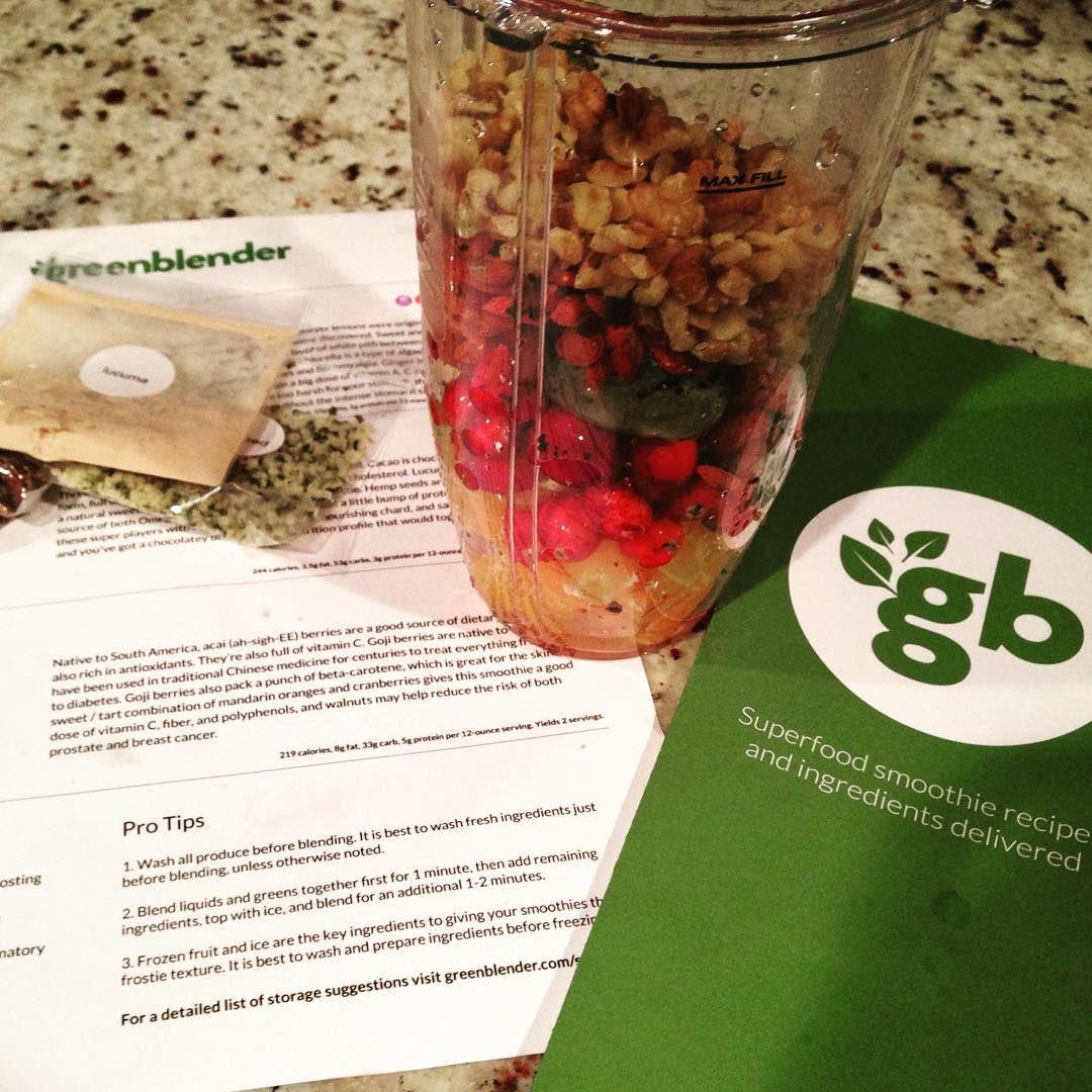 Smoothie Recipes. Organic Ingredients. Delivered Weekly
