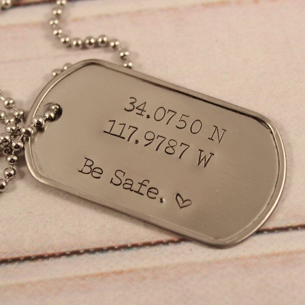Personalized Dog Tag Necklace Keychain Dog Tags Personalized