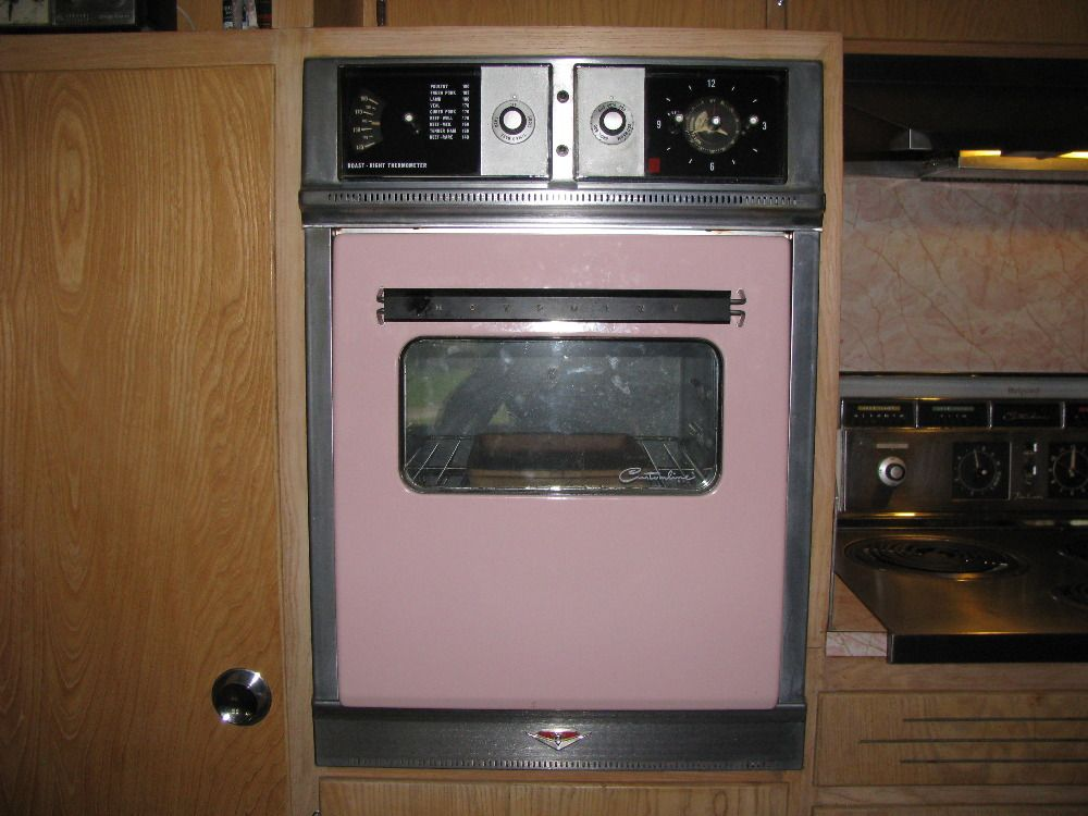 late 1950s hotpoint custom line electric wall oven and cooktop - Electric Wall Oven