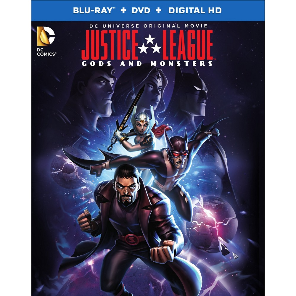 justice league gods and monsters blu