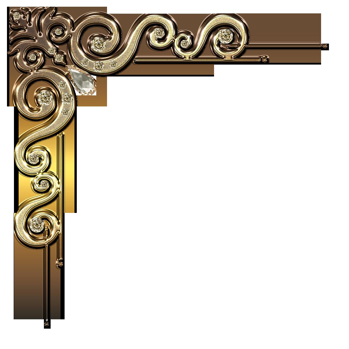Free Scrapbook Craft Hobbies Hobby Embelishment Element Design Ornamental Decorative Divider B Gold Clipart Frame Border Design Clip Art Borders
