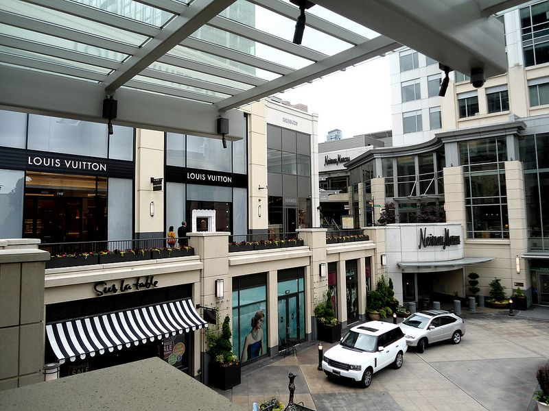 Another entrance to Neiman Marcus at the Shops at The ...