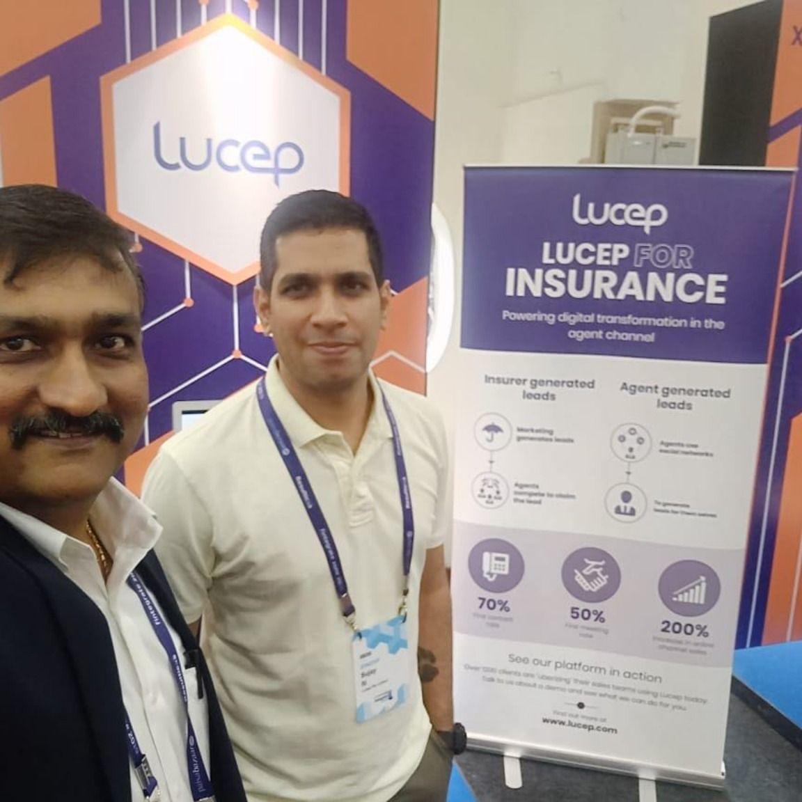 Lucep Team At Fintegrate Zone Conference In Mumbai Meeting